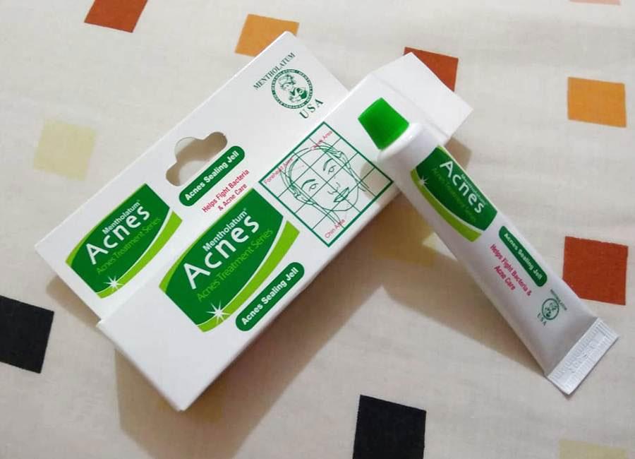 Review về kem trị mụn acnes