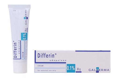 Kem trị mụn Differin Cream - Adapalen 0.1%