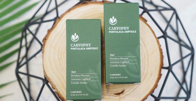 serum trị mụn thâm caryophy portulaca ampoule