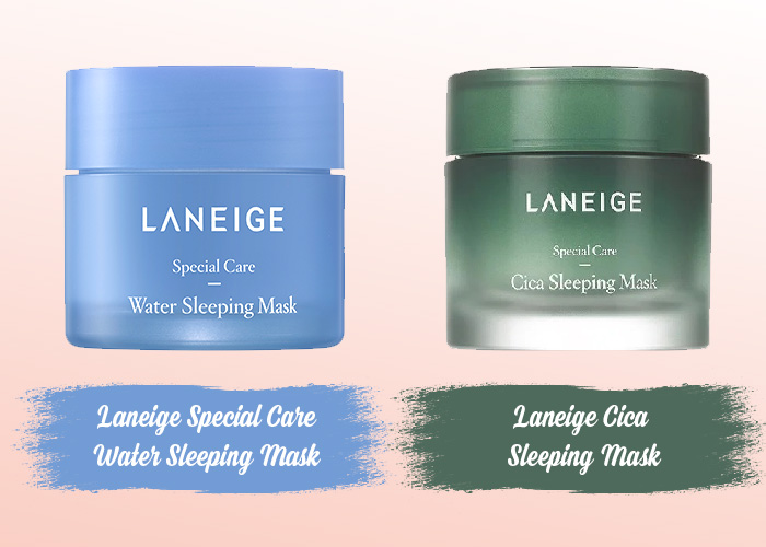 2 loại mặt nạ ngủ của Laneige