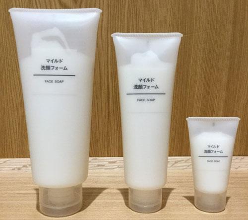 Sữa rửa mặt Muji có khả năng làm sạch tốt