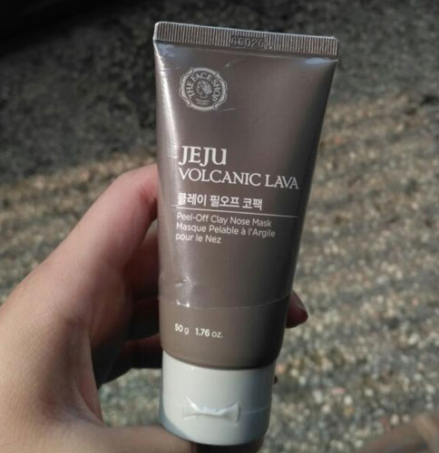 Mặt nạ lột mụn Jeju Volcanic Lava Peel Off Clay Nose