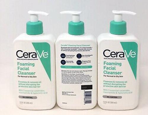 CeraVe được thiết kế dạng chai nhựa có vòi bơm