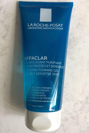 La Roche-Posay Effaclar Gel Moussant Purifiant có thiết kế đơn giản