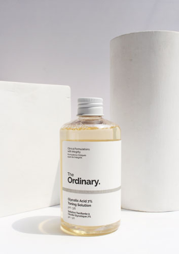 Toner axit toning The Ordinary AHA Glycolic Aicd 7%