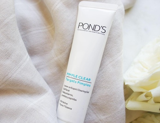 Pond's Acne Clear Anti-Acne Leave-on Expert Clearing Gel trị mụn hiệu quả