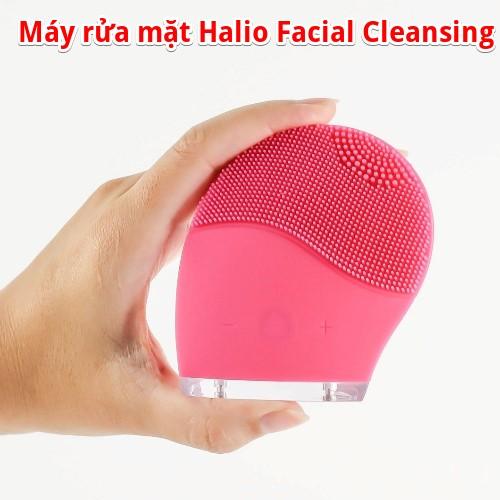 máy rửa mặt halio facial cleansing & massage