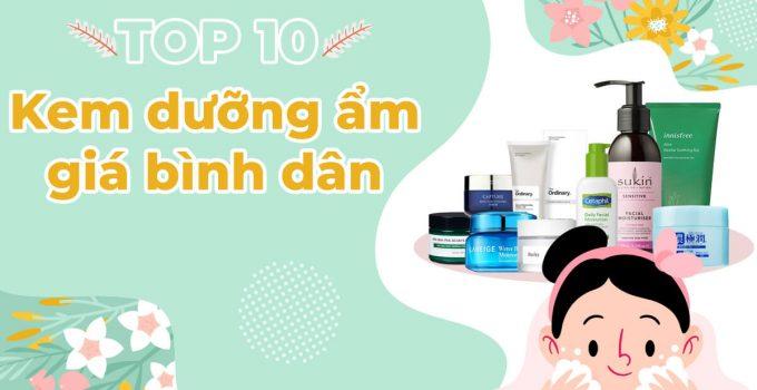 kem dưỡng ẩm giá rẻ tốt cho da