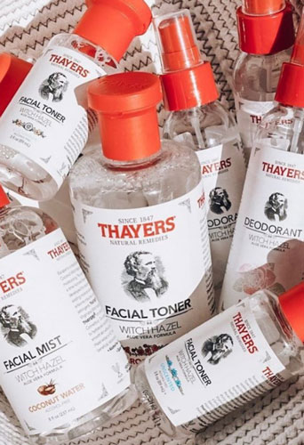 Toner trị mụn dành cho da hỗn hợp Witch Hazel Thayers