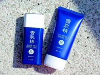 Kem chống nắng cho da hỗn hợp Kose Sekkisei Sun Protect Essence Milk SPF50+/PA++++