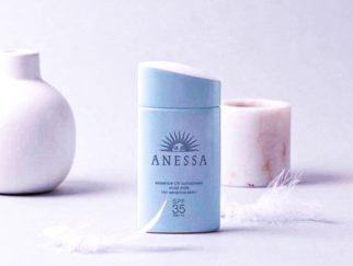 Kem chống nắng không cồn cho da dầu mụn Anessa Essence UV Sunscreen Mild Milk SPF 35/PA +++