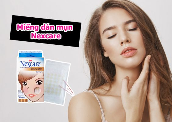 miếng dán mụn nexcare review