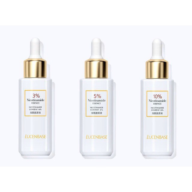 serum cho da dầu mụn Nicotinamide của Lucenbase