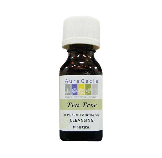 Tinh dầu trị mụn Tea Tree Oil của Aura Cacia