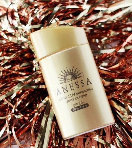 kem chống nắng ANESSA Perfect UV Sunscreen Aqua booster