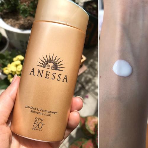 kem chống nắng ANESSA Perfect UV Sunscreen skincare milk