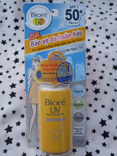 Kem chống nắng Biore UV Perfect Block Milk White
