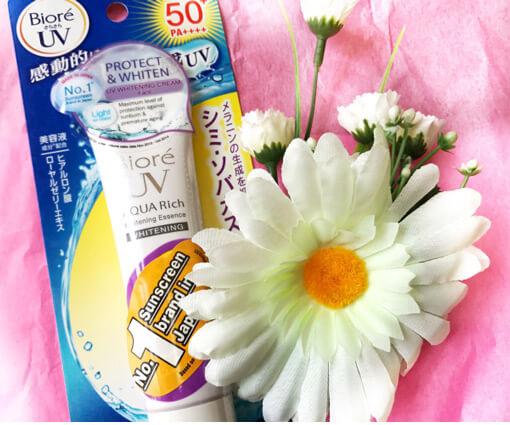 Kem chống nắng Biore UV Aqua Rich Whitening Essence