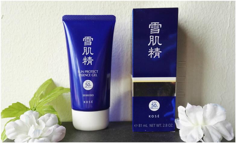 kem chống nắng kose Sekkisei Sun Protect Essence Gel SPF50 PA++++