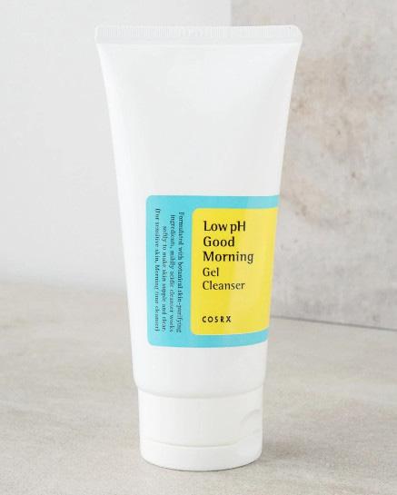 Bao bì & thiết kế của Cosrx Low pH Good Morning Gel Cleanser