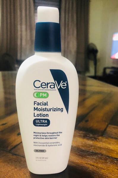 kem dưỡng da ban đêm Cerave Facial Moisturizing PM