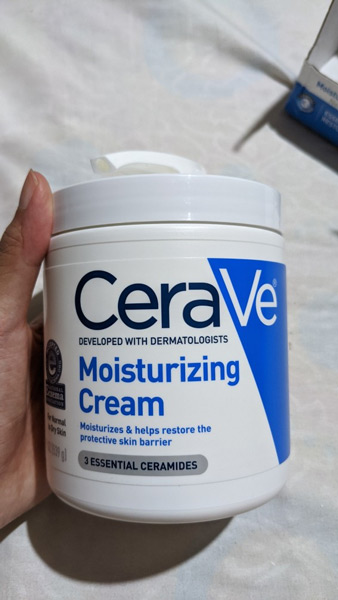 Kem dưỡng ẩm Cerave Moisturizing Cream vòi xịt