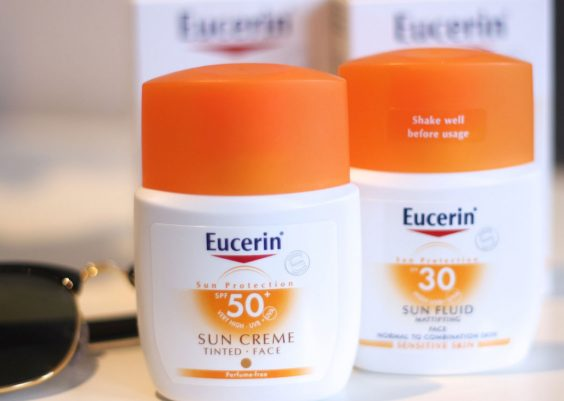 kem chống nắng eucerin review