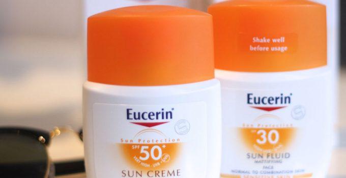 kem chống nắng eucerin review
